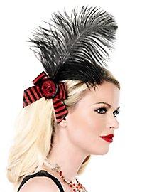 Piraten Totenkopf Haarschleife