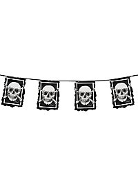 Piraten Wimpelkette 6 Meter