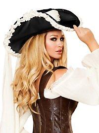 Piratenhut mit langem Hutband