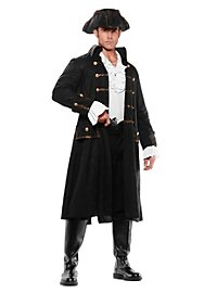 Piratenkapitän schwarz Kostüm