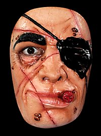 Piratenmaske Maske aus Latex
