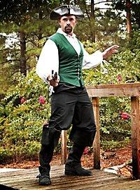 Pirate's Vest green