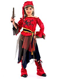 Piratin Kinderkostüm