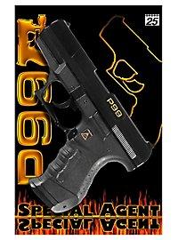 Pistolet d'agent secret P99, 25 coups