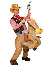Pistolet de cow-boy gonflable