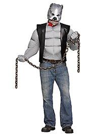 Pit Bull Biker Costume