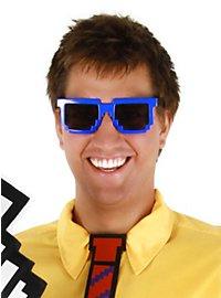Pixel Glasses blue