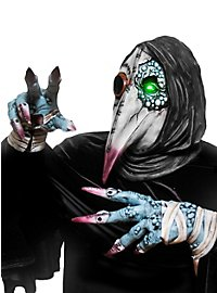 Plague Doctor Kit Gloves & Mask of Latex