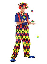 Plaid Clown Costume