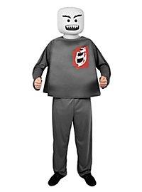 Plastic Figure Zombie Halloween Costume