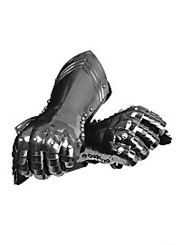 Plate Gauntlets silver