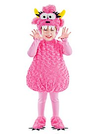 Plüsch Monster pink Kinderkostüm