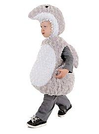 Plush Shark Baby Costume