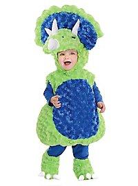 Plush Triceratops Baby Costume
