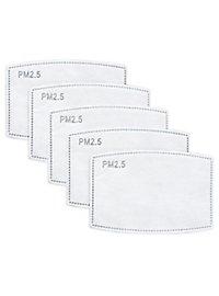 PM 2.5 Filter für Stoffmasken - 5 Stück