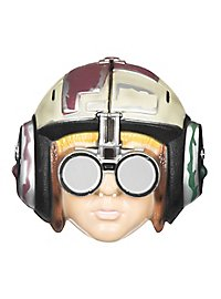 Podracer children's mask made of plastic