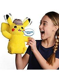 Pokémon - Sprechender Meisterdetektiv Pikachu Plüschfigur