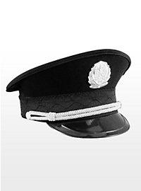 Polizeimütze schwarz