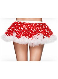 Polka Dot Petticoat red-white