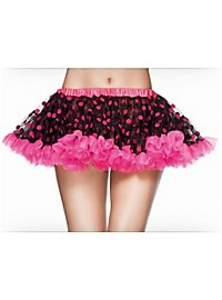 Polka Dots Tutu pink/schwarz