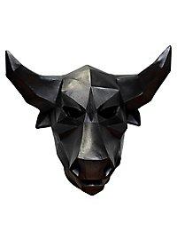 Polygon Stier Maske