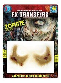 Pommettes de zombie 3D FX Transfers