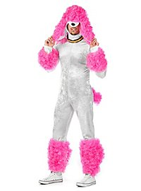 Poodle pink Costume