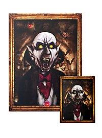 Portrait lumineux «Dracula» grand