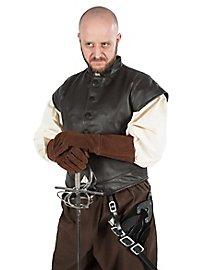 Pourpoint en cuir de mercenaire