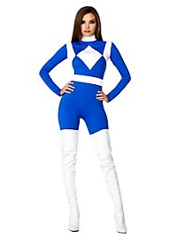 Power Danger Catsuit blau
