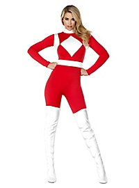 Power Danger Catsuit red