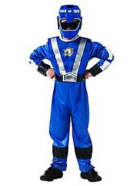 Power Ranger blau Kinderkostüm