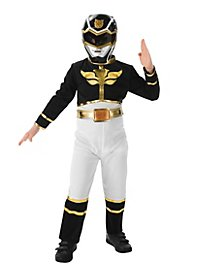 Power Ranger schwarz Kinderkostüm