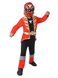 Power Rangers Megaforce rot Kinderkostüm