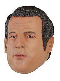 Präsident Macron Politikermaske