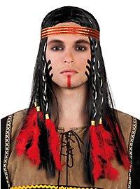 Prairie American Indian Wig