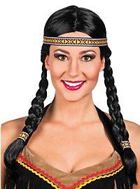 Prairie American Indian Wig Women