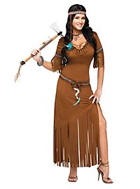 Prairie Native American costume, female