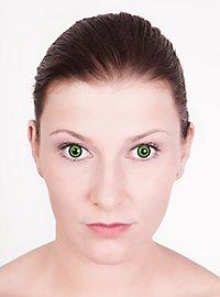 Prescription Contact Lens Green Iris