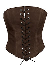 Princess Corset dark brown
