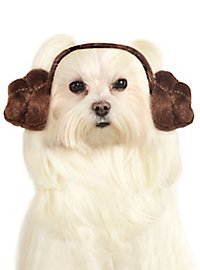 Princess Leia Headband for Dogs