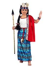 Princesse indienne Déguisement Enfant