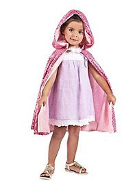 Princess/Fairy Reversible Cape for Kids
