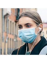 Professioneller Mundschutz 3-lagig Einweg Schutzmaske - 10 Stück