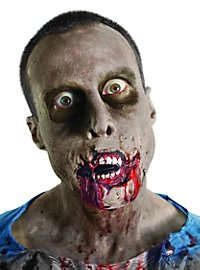 Prothèse en latex bouche de zombie The Walking Dead