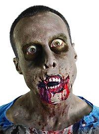 Prothèse en latex bouche de zombie The Walking Dead