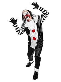 Psycho Pierrot Kostüm mit Maske
