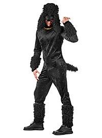 Pudel schwarz Kostüm