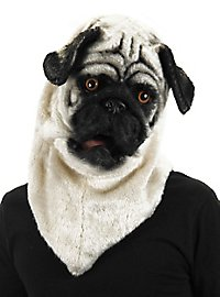 Pug Mask with Moving Mouth