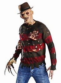 Pull Freddy Krueger avec blessures en latex